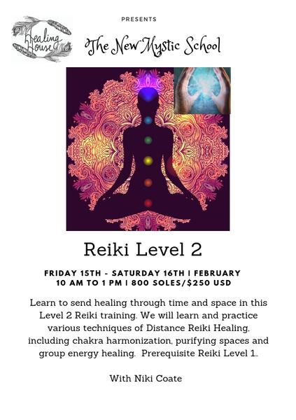 LEARN REIKI LEVEL 2